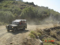 Jeepsafari  in der Türkei